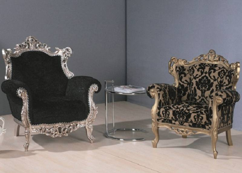 Poltrone Classiche Moderne.Barocco Poltrone Classiche
